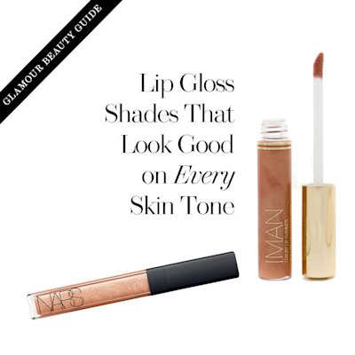 Lip gloss shades that look good on every skin tone