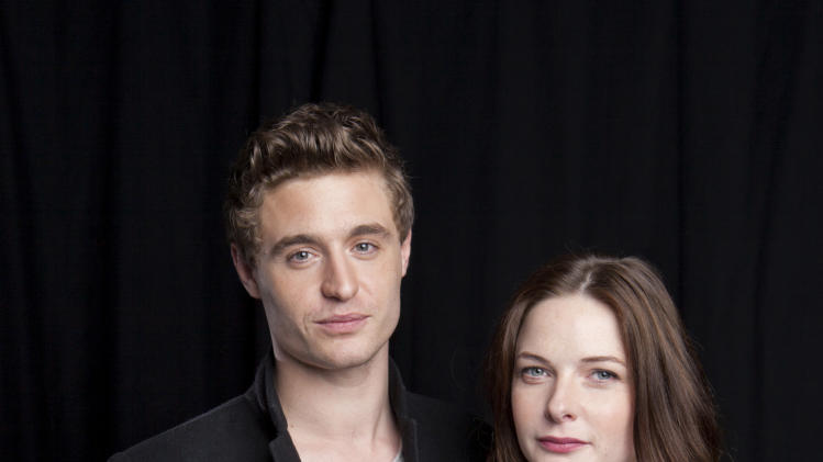 "FILE - This June 3, 2013 file photo shows Max Irons, left, and Rebecca Ferguson posing for a portrait in New York. Irons and Ferguson star in ""The White Queen,"" airing Saturdays at 8 p.m. EDT on Starz. (Photo by Amy Sussman/Invision/AP, File)"