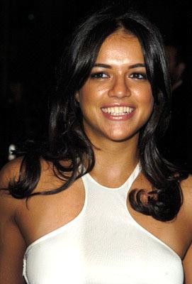 Michelle Rodriguez at the Hollywood premiere of Warner Bros. Alexander