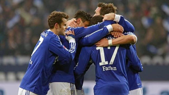 German Bundesliga  - Schalke edge Hanover in nine-goal bonanza