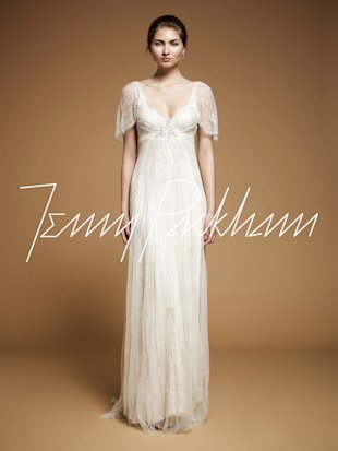 Angelina jolie Jenny Packham wedding dress