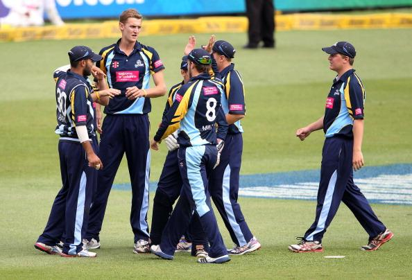 CLT20 2012 Chennai Super Kings v Yorkshire Carnegie