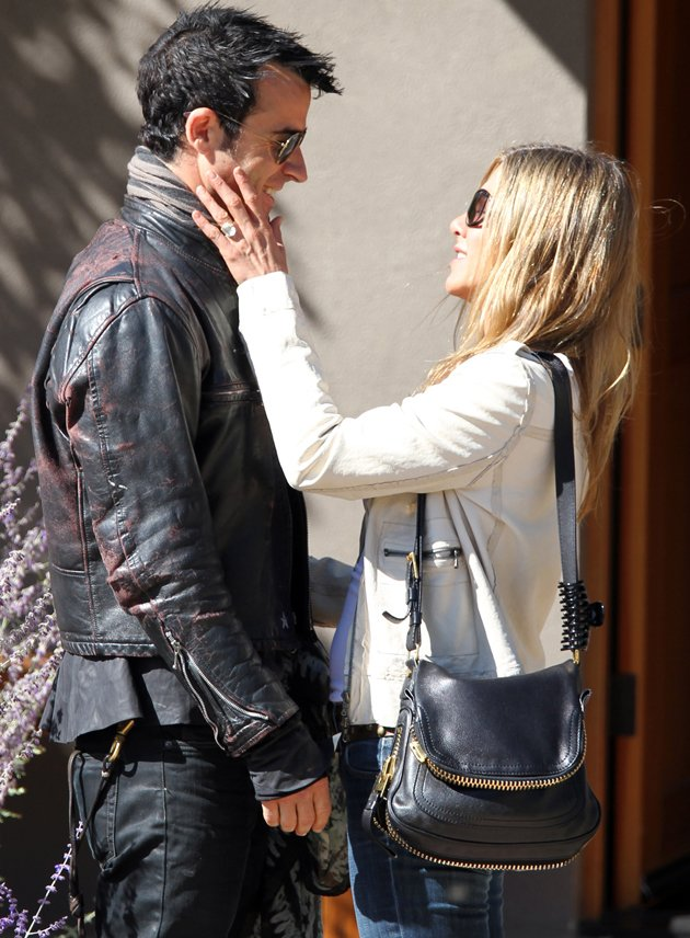 Jennifer Aniston, Justin Theroux, engagement ring