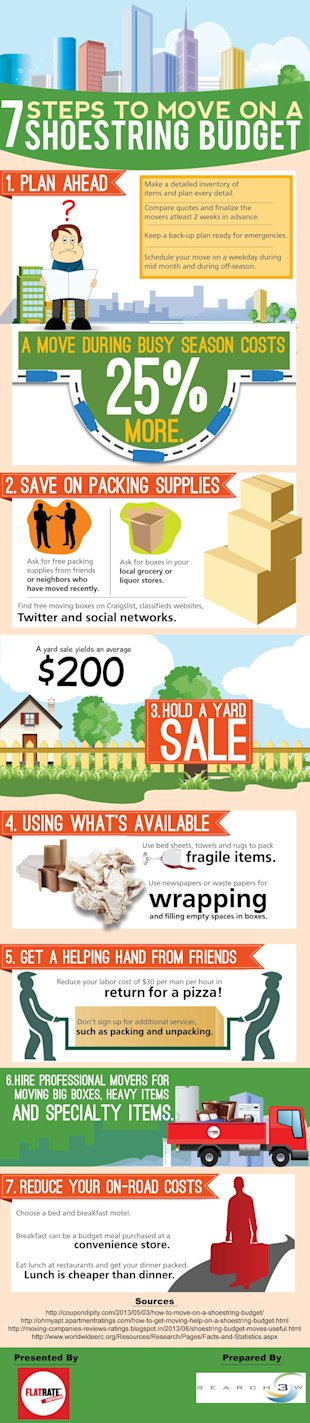 7 Steps To Move On A Shoestring Budget (Infographic) image flatrate dec