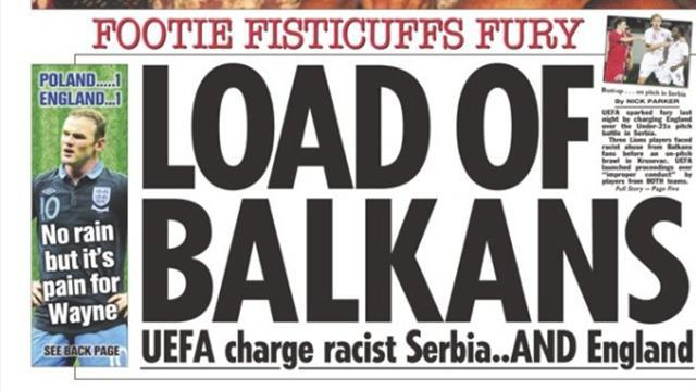 Euro U21: Paper Round: Mass indignation for 'racist Serbia'