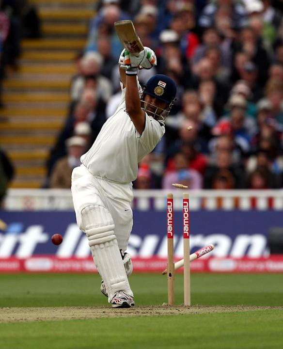 Gautam Gambhir was the first man out for India
