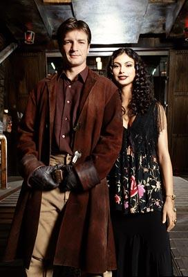 "Nathan Fillion and Morena Baccarin Fox's ""Firefly"" Firefly"