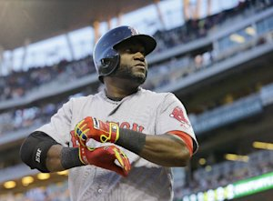 David Ortiz likes taking his sweet time at the plate. (AP)