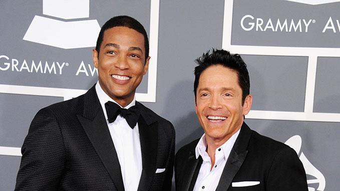 The 55th Annual GRAMMY Awards - Arrivals: Don Lemon and Dave Koz