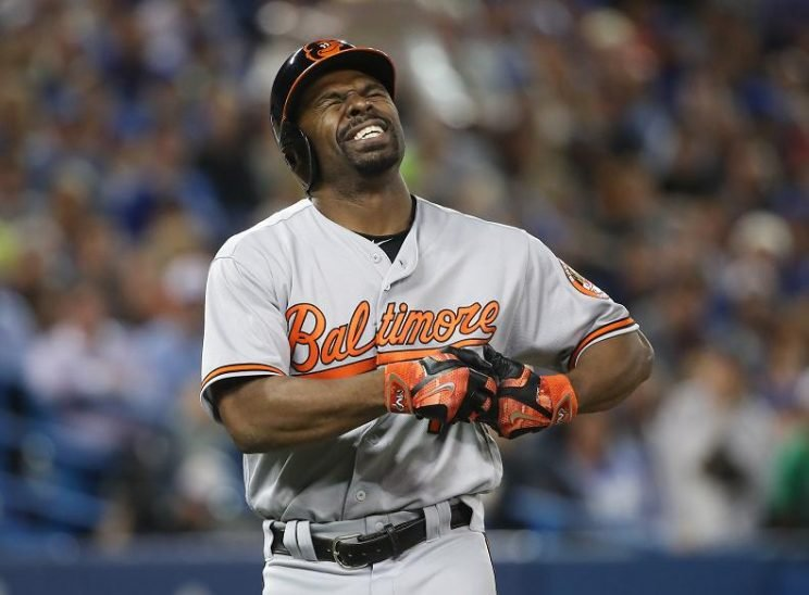 Michael Bourn will miss at least four weeks with a broken ring finger. (Getty Images)