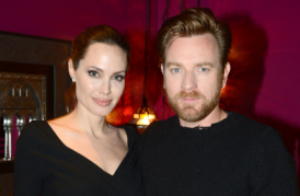 Angelina Jolie Hosts UK Screening Of 'The Impossible' To Stump For Ewan McGregor