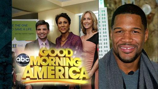 GMA: Michael Strahan to the Rescue!