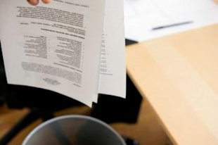 Thinkstock: What not to do with your resume