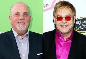 Billy Joel, Elton John | Photo Credits: Sonia Moskowitz/Getty Images, Kevin Mazur/WireImage