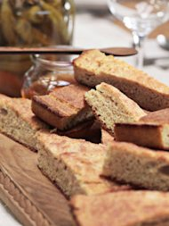 Buttermilk Cornbread from Country Living