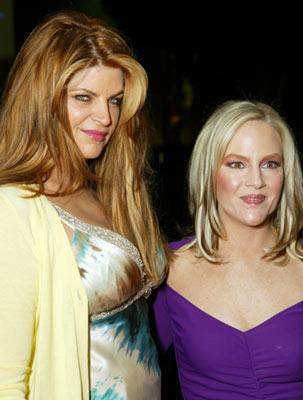 Kirstie Alley and Rachael Harris at the Los Angeles premiere of Showtime's Fat Actress - 2/23/2005