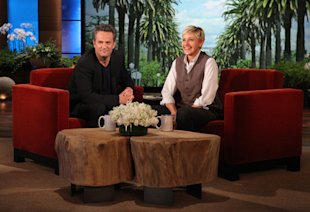 Exclusive! Matthew Perry on Reuniting with Courteney Cox