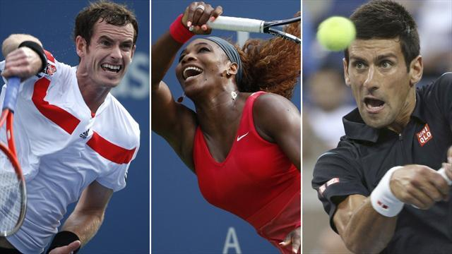 US Open - Back on script in New York as big names win