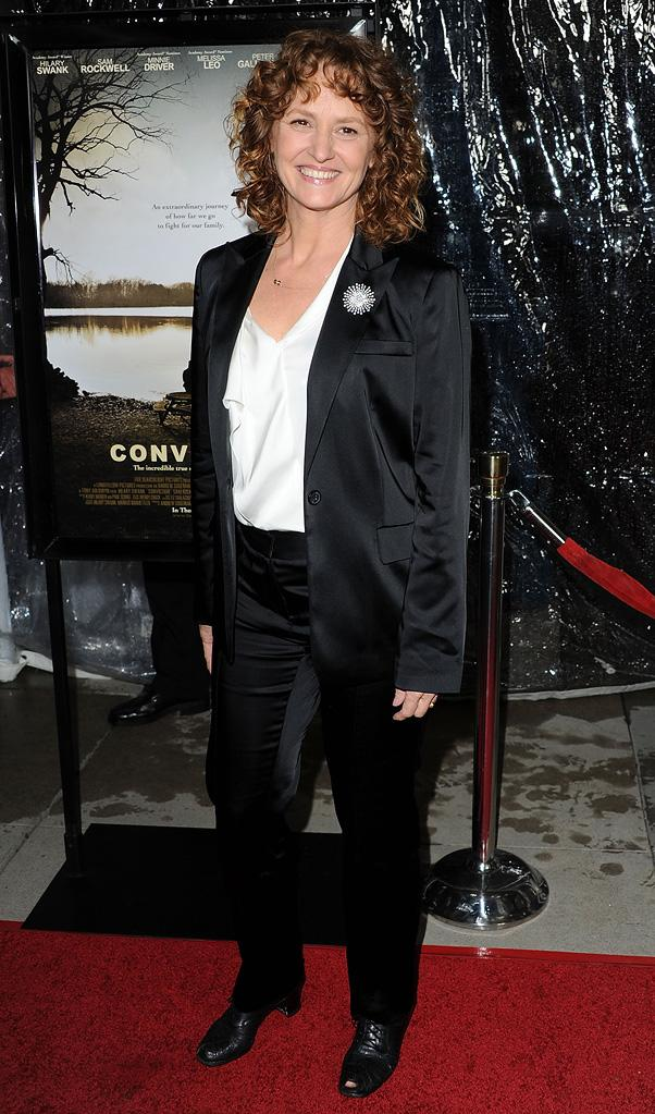 Conviction LA Premiere 2010 Melissa Leo