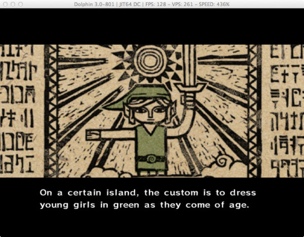"Mike Hoye hacked this Zelda video game to change the pronouns to ""she"". (exple.tive.org)"