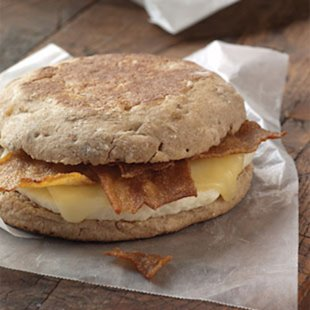 Starbucks Turkey Bacon & White Cheddar Classic Breakfast Sandwich