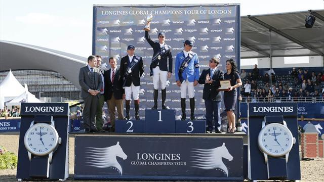 Equestrian - Maher leads British onslaught at GCT in London