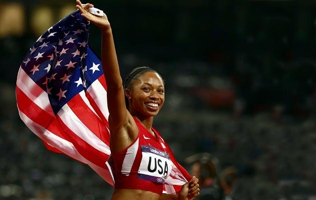 Allyson Felix, track and field