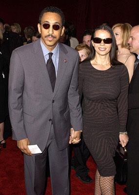 Gregory Hines and gal 53rd Annual Emmy Awards - 11/4/2001