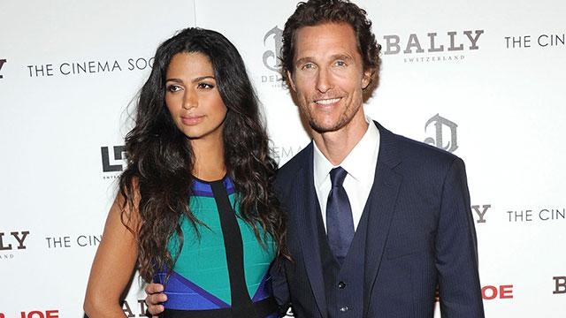 Matthew McConaughey Welcomes Baby No. 3