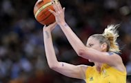 Sports Minister Kate Lundy has called for more equitable arrangements after learning that the Australian Opals, captained by WNBA three-time Most Valuable Player Lauren Jackson (pictured here in 2008) flew to London premium economy, while the men's team travelled to the Olympics in business class