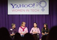 Bay Area Girl Geek Dinner Panel discussion