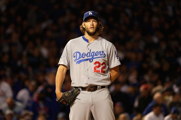 Clayton Kershaw highlights this season's debut of Mostly MLB Notes (Getty Images)