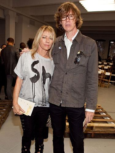 Kim Gordon & Thurston Moore
