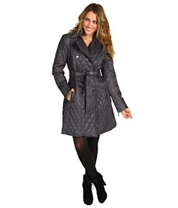 Vince Camuto quilted coat
