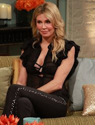 'Real Housewives of Beverly Hills' star Brandi Glanville on the set of Access Hollywood on November 5, 2012 -- Access Hollywood