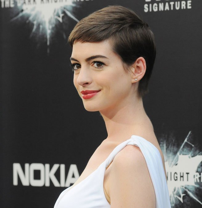 Anne Hathaway Pixie Hair Most Influential