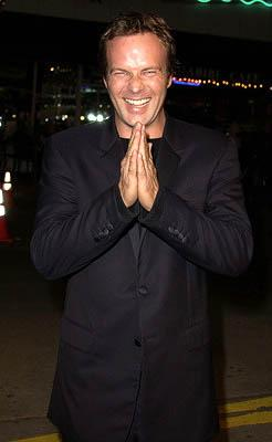 William Sanford at the LA premiere of Miramax's Kate & Leopold