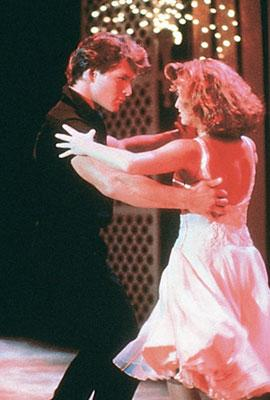 Patrick Swayze and Jennifer Grey in Lions Gate Home Entertainment's Dirty Dancing