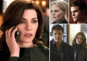 Matt's Inside Line: Scoop on Good Wife, Mentalist, Castle, Once, TVD, Bitten, Shameless and More
