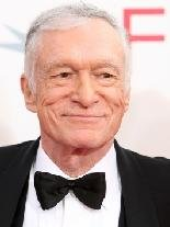 Hugh Hefner at the AFI Lifetime Achievement Award tribute to Michael Douglas in LA (June 11, 2009) -- Getty Images