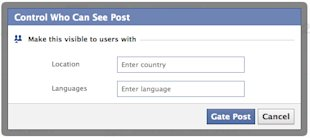 How To Create Content For Your Multilingual Facebook Page image facebook who can see it2
