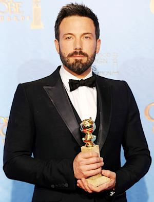 "Ben Affleck Wins Best Director, Best Picture Golden Globes for Argo, Tells Jennifer Garner: ""You Are My Everything"""