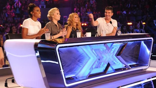 Cowell Talks Baby News & 'X Factor' Season Three