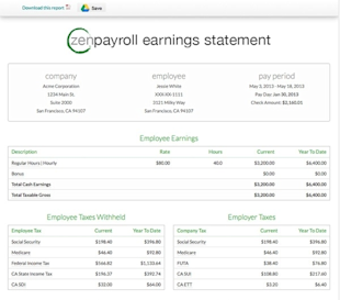 ZenPayroll Review – Peace Of Mind For Payroll Processing And Taxes image 91057 169819467