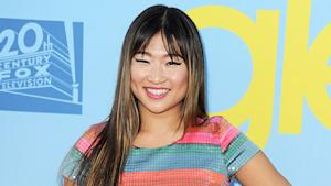 Jenna Ushkowitz Gets Ready For Emmys Night
