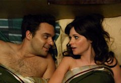 Jake Johnson and Zooey Deschanel | Photo Credits: FOX