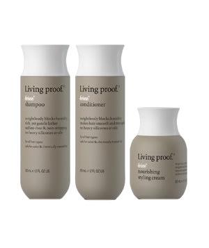 Living Proof's three-piece No Frizz Discovery Set