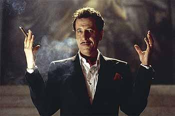 Geoffrey Rush as Steven Price in Warner Brothers' House On Haunted Hill