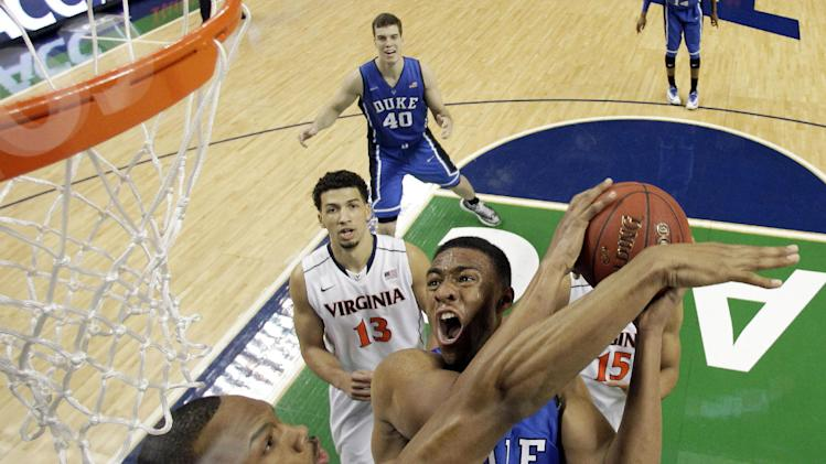 Duke freshman Jabari Parker declares for NBA draft