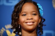 Actress Quvenzhane Wallis arrives at the Directors Guild of America awards held in Hollywood on February 2, 2013. Wallis could become the youngest ever winner of the best actress Oscar at the 85th Academy Awards next weekend